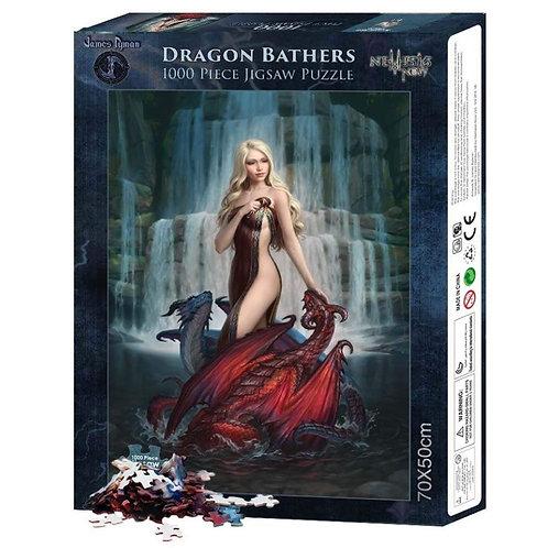 Dragon Bathers - James Ryman - Puzzle 1000pz
