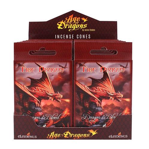 Fire Dragon - Sangue di Drago - Incenso Elements in coni