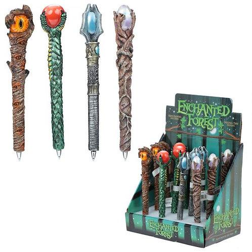 Penna Magica Staffa del Mago in resina