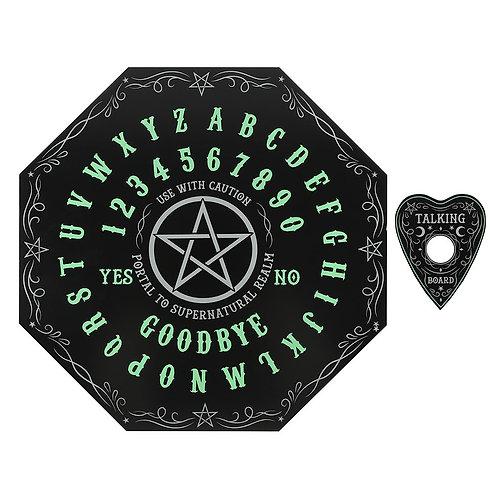 "Octagon Spirit Board - Tavola Ouija ""Glow in the Dark"""