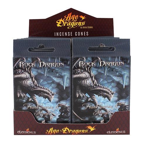 Rock Dragon - Incenso e Mirra - Incenso Elements in coni