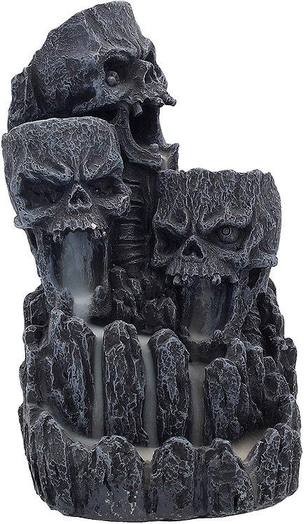 Skull Incense Tower - Bruciaincenso per coni effetto cascata 17,5cmcm