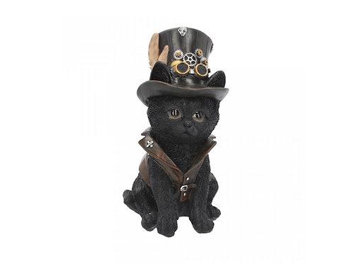 Cogsmith Cat - Gatto Steampunk 18,5cm