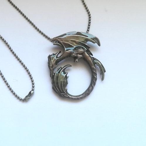 Moon Dragon - Collana Drago della Luna byAmy Brown