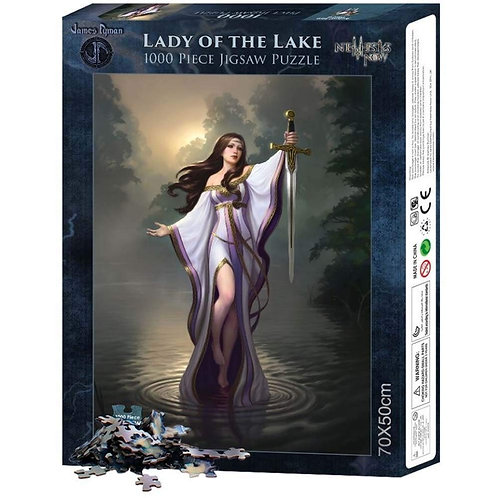 Lady of the Lake - James Ryman - Puzzle 1000pz