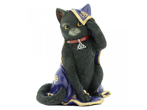 Jynx - Gatto nero che gioca con coperta 11cm