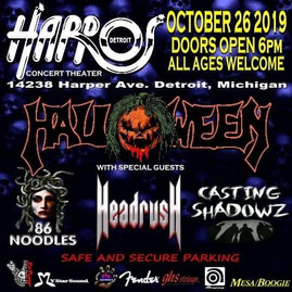 One Of The Worlds Largest Heavy Metal Stage Shows 10-26-19