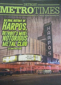 The story of Harpos, Detroit's most notorious metal club