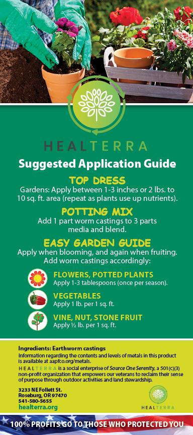 Heal Terra Rackcard