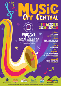 Music Off Central poster