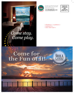 Mill Casino Mailer