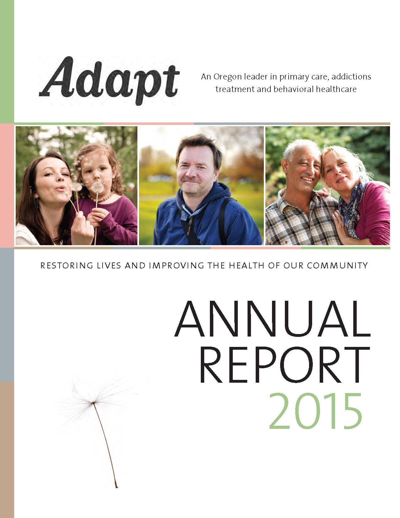 Adapt Annual Report 2015