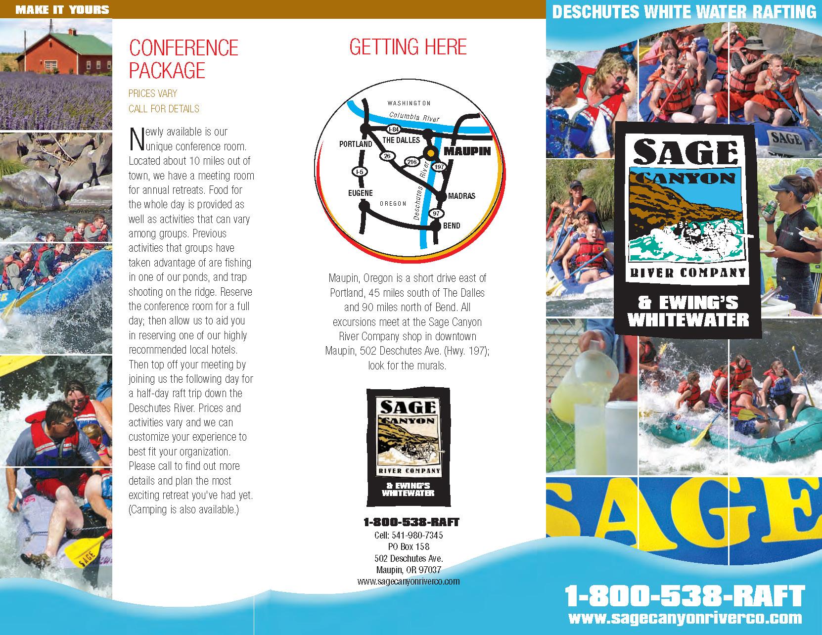Sage Canyon Brochure