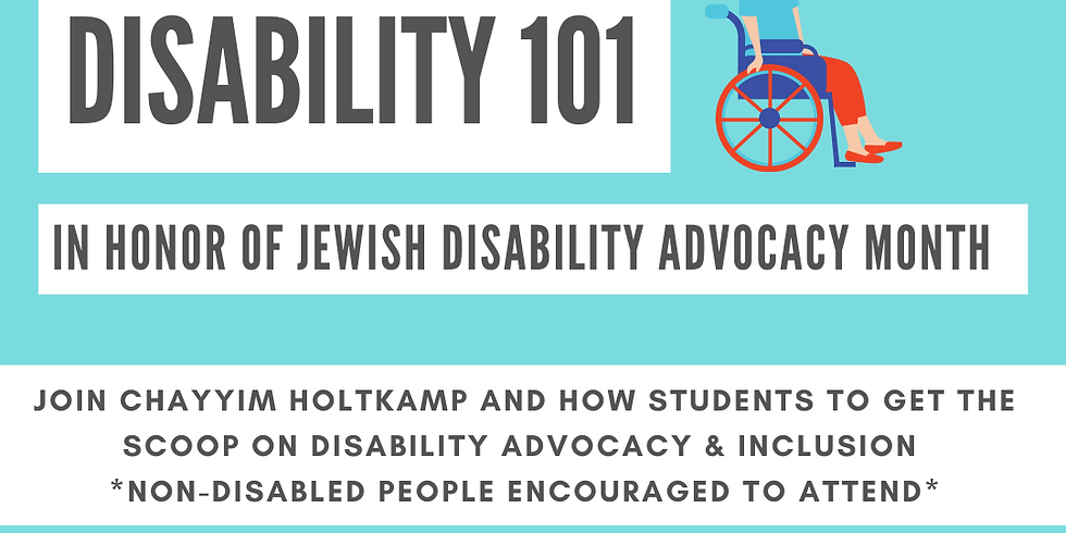 Disability 101