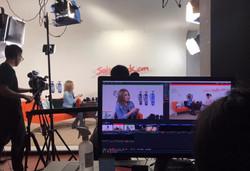 TV Interviewed