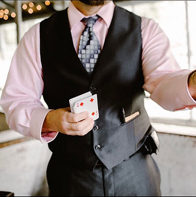 Novelty Entertainment for Ceremony and Cocktail Hour
