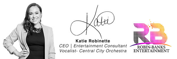 Katie Robinette CEO and Vocalist