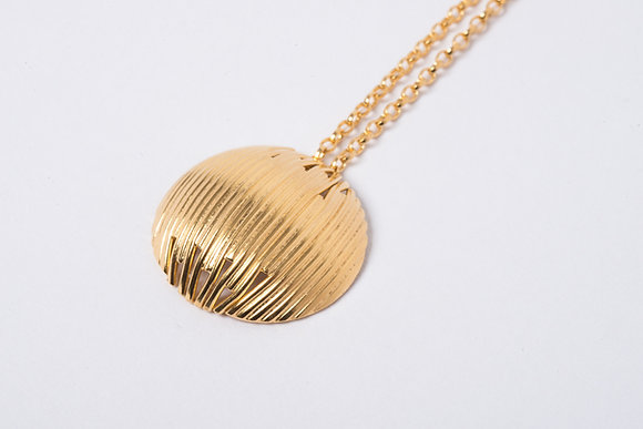 Gold Vermeil Simple Identity Pendant