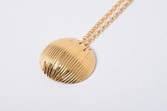 Gold Vermeil Simple Identity Pendant