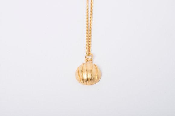 Gold Vermeil Contrast Pendant
