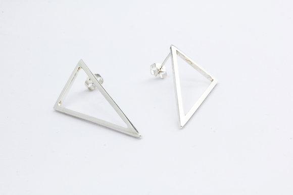 Large Triangle Earrings