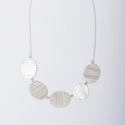 Silver Contrast Necklace