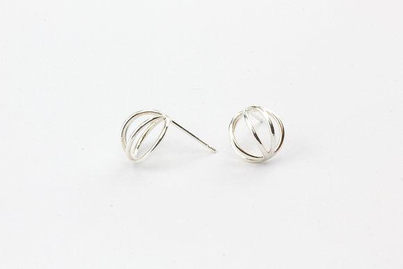 Domed Wire Earrings