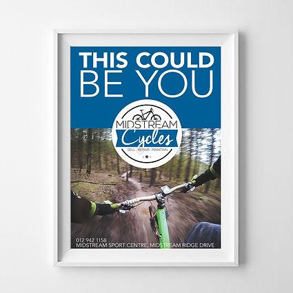 Poster Midstream Cycle Magazine advert.j