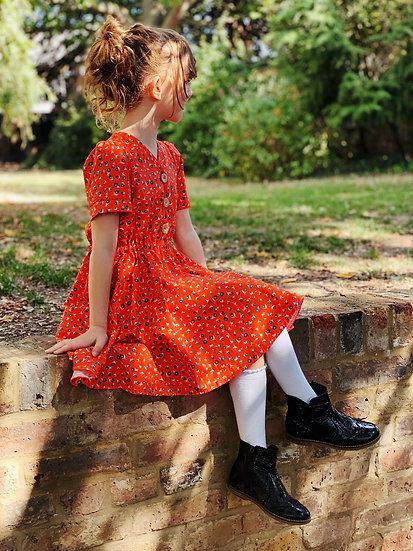 Kay Dress - Autumn Daisy