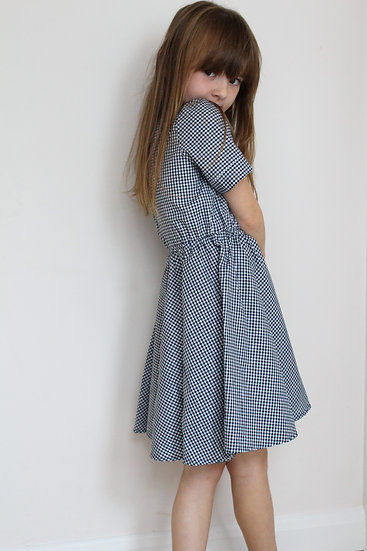 Kay Dress - Gingham