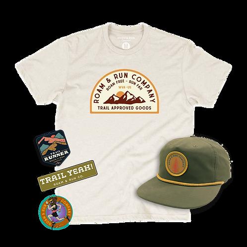 Men's Bundle #1 - Shirt / Hat / Sticker Pack