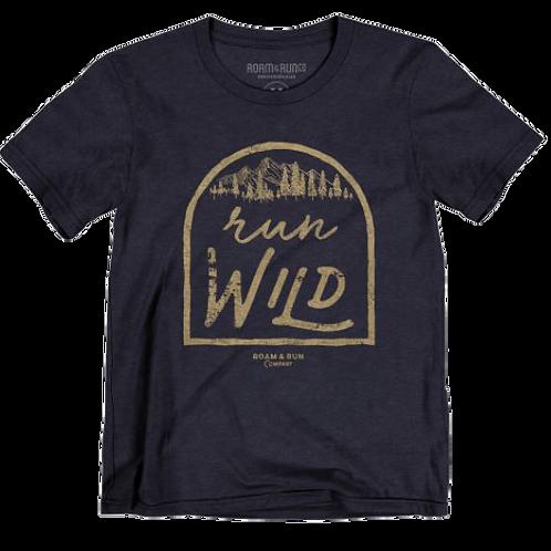 Women's Run Wild Tee - Blue