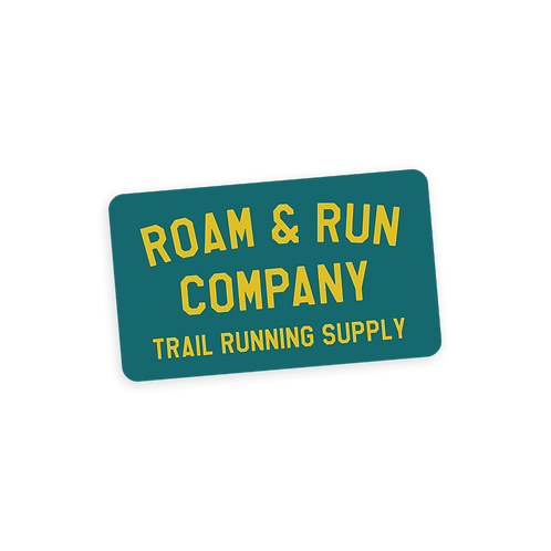 Trail Supply Sticker - Teal/Yellow