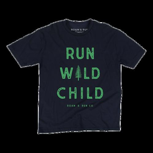 Kid's Run Wild Child - Navy