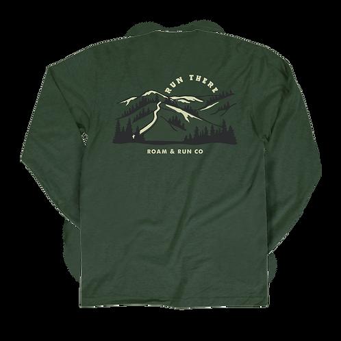 Run There Long Sleeve - Emerald