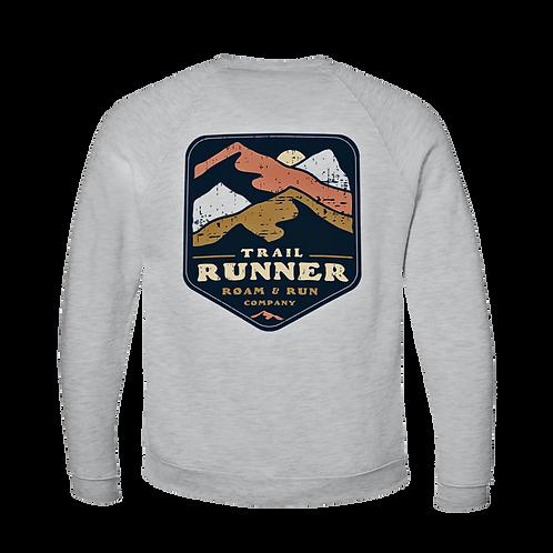 Trail Runner Crewneck - Ash