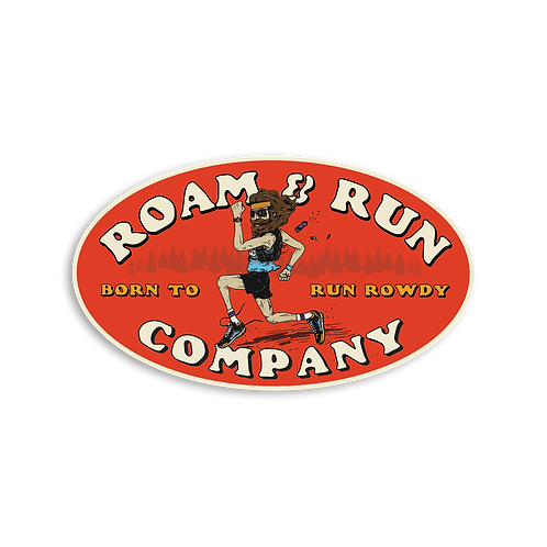 Born to Run Rowdy Sticker