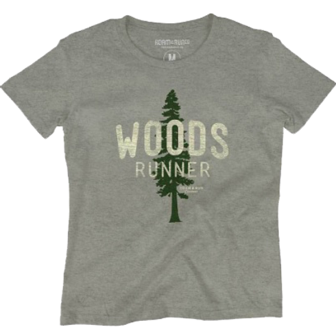 Women's Woods Runner Tee - Grey