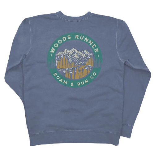 Woods Runner 2.0 Crew - Slate Blue