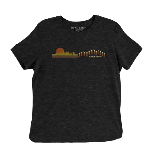 Women's Run for the Hills 2.0 Tee - Charcoal