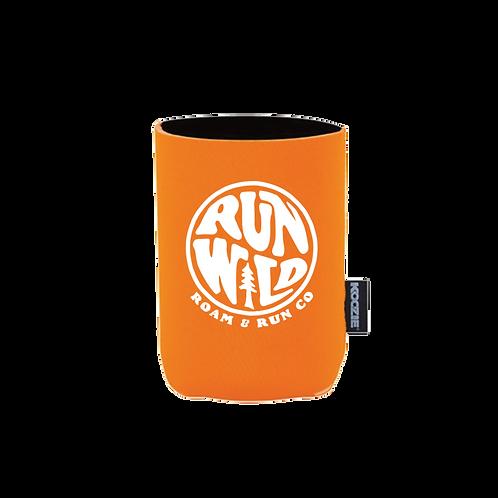 Run Wild Koozie - Orange