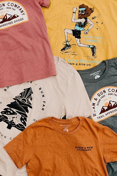 Roam and Run Co Shirt