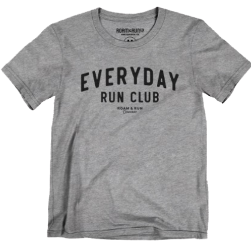 Women's EveryDay Run Club Tee - Heather Grey