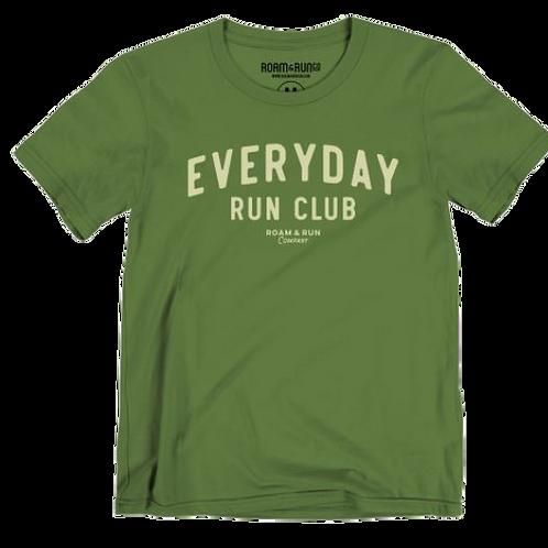 Women's EveryDay Run Club Tee - Leaf