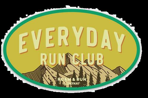 EveryDay Run Club Yellow Sticker