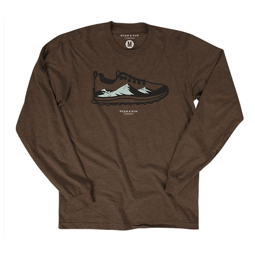 Treads Long Sleeve - Heather Brown