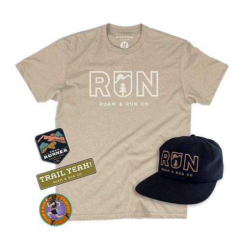Men's Bundle #2 - Shirt / Hat / Sticker Pack