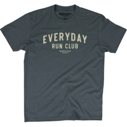 Men's EveryDay Run Club Tee - Asphalt
