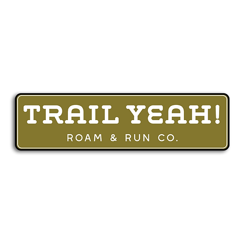Trail Yeah Bumper Sticker
