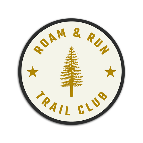 Trail Club Cream Sticker